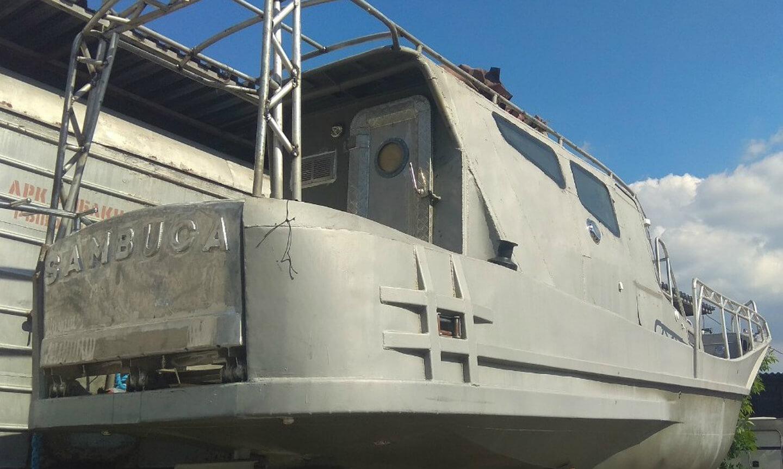 Постройка алюминиевой яхты