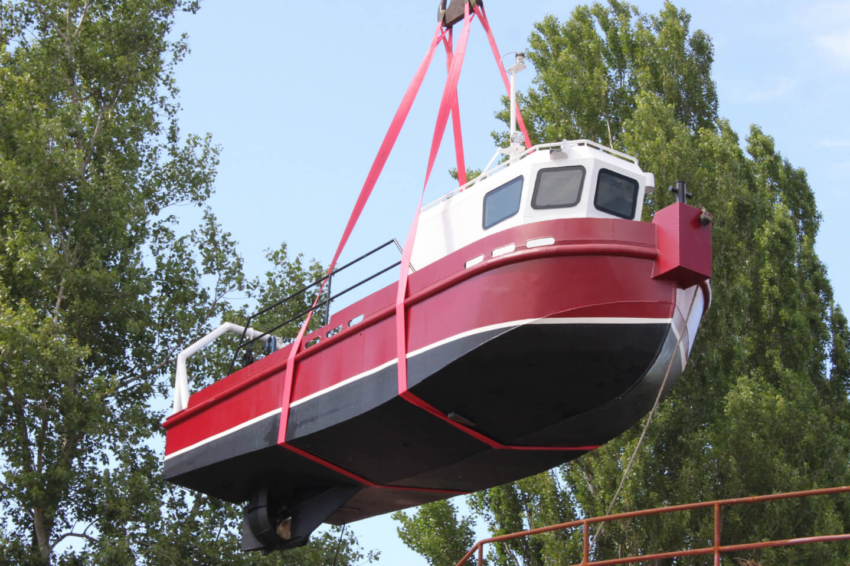 Постройка катера