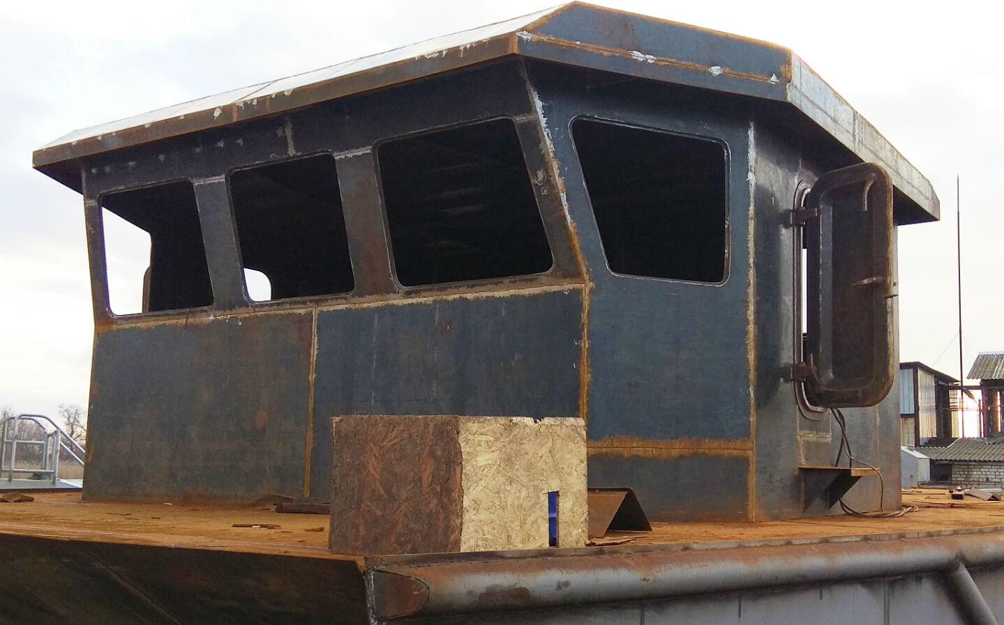 Постройка прогулочного катера