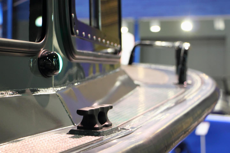 Customized aluminum boats production