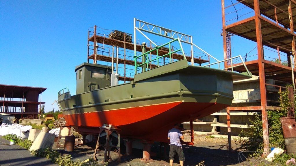 Переоборудование и ремонт рыболовной фелюги