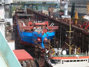 Железнодорожное паромное судно «СМАТ»