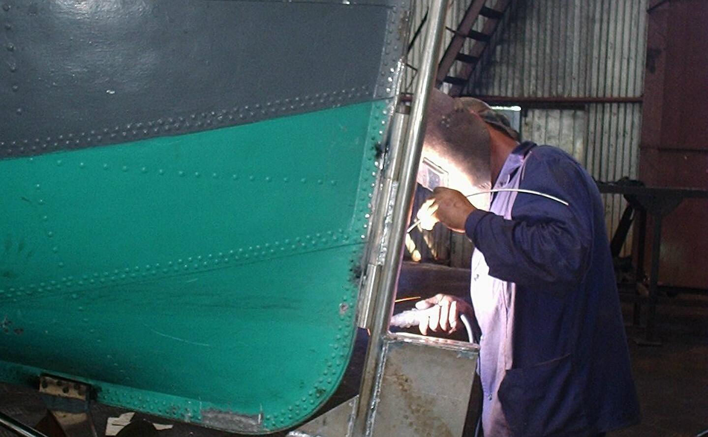 Ремонт алюминиевых лодок