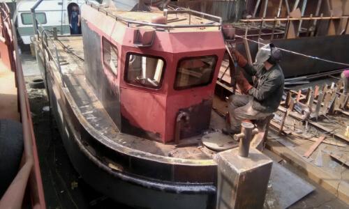 Достройка катера