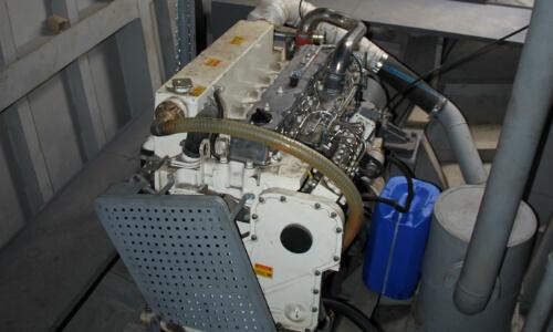 Конвертация двигателя в судовой