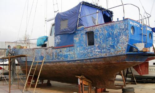 Переделка яхт