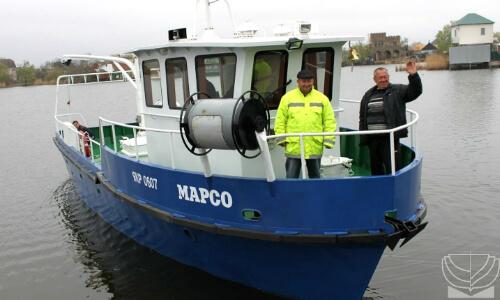Постройка рыболовного судна
