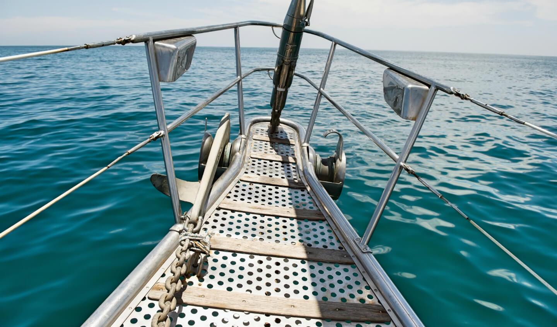 Продажа алюминиевой яхты