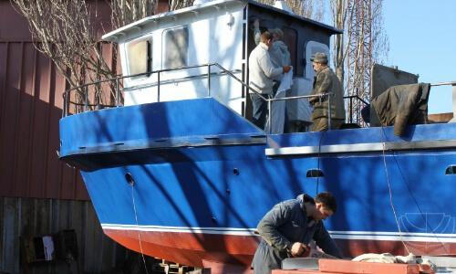 Ремонт маломерного судна