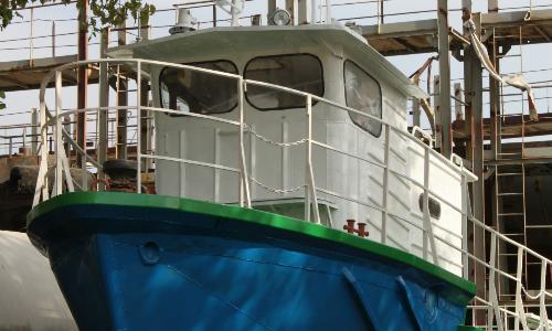 Ремонт разъездного катера