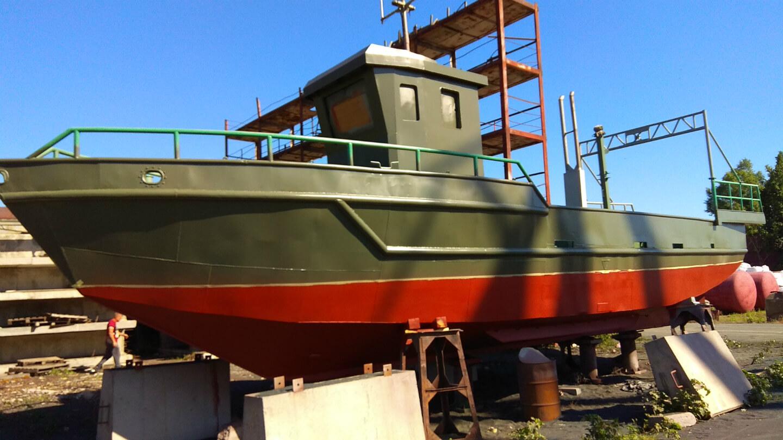 Ремонт рыболовного судна